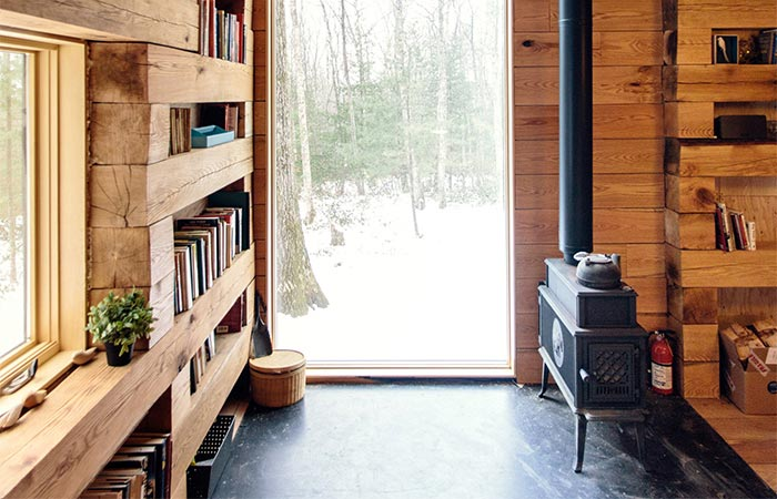 The View From The Window Inside Studio Padron Cabin