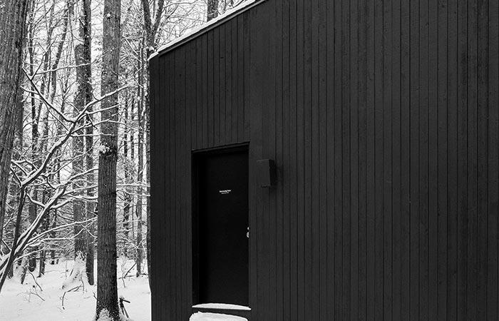 The Entrance Door Into Studio Padron Cabin