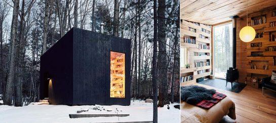 Studio Padron Cabin | Minimalistic Reading Cabin In Upstate New York
