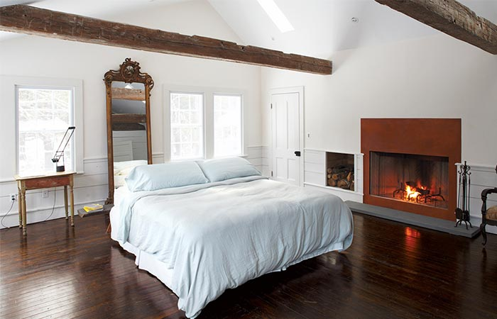 The Floating Farmhouse Bedroom