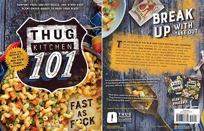 Front And Back Cover Of Thug Kitchen 101: Fast As F*ck