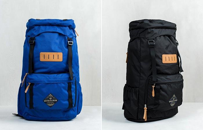 Blue and Black United By Blue 45L Range Daypack