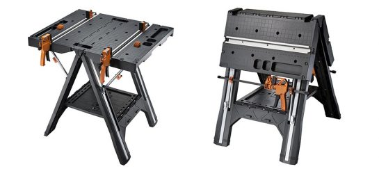 WORX Pegasus Folding Work Table | Convertible Table