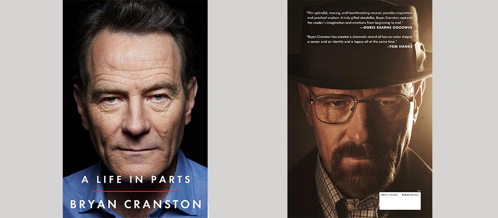 Front and back cover of A Life In Parts