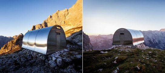 Bivak II Na Jezerih   Alpine Shelter In The Slovenian Mountains