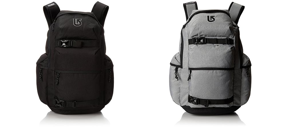Two different versions of the Burton Kilo Pack