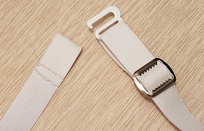 Cam's Wooden Ties Elastic Neck clip