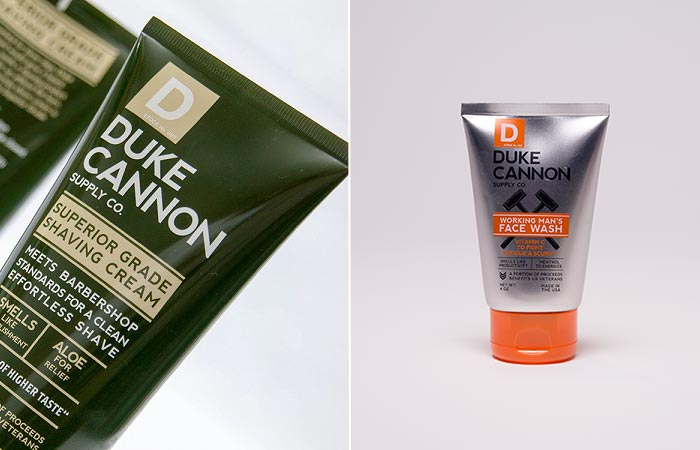 Working Man's Face Wash And Superior Grade Shaving Cream