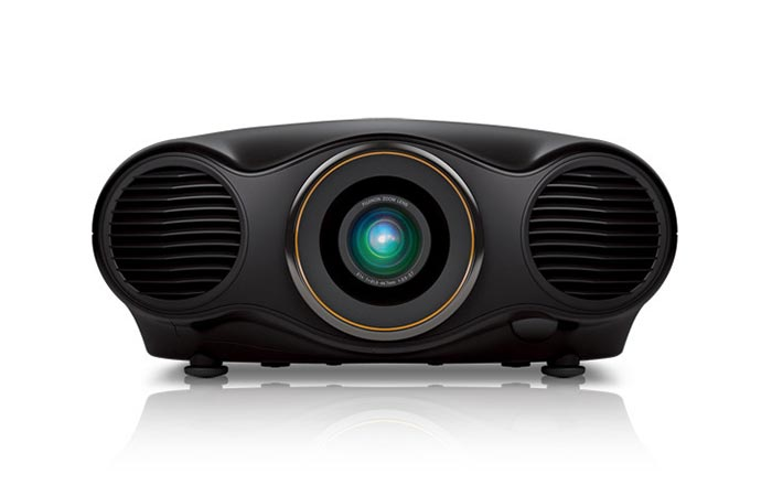 Front view of the Epson Pro Cinema Projector