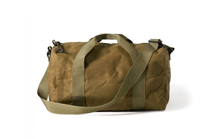 Filson Tin Cloth Duffel Bag Tan
