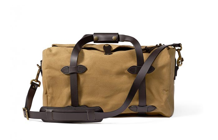 Filson Small Duffel Tan