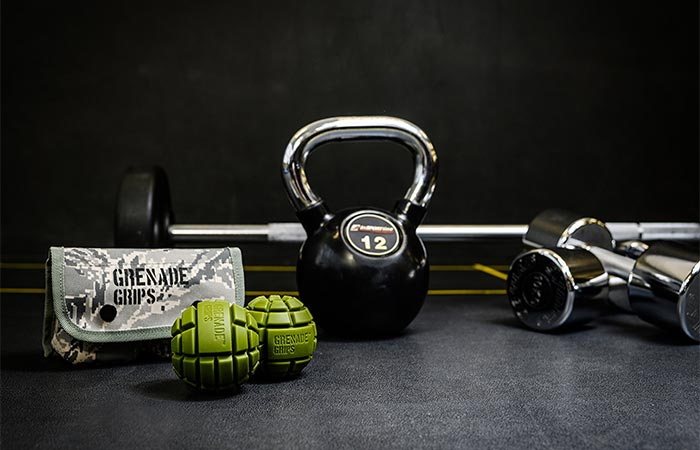 Grenade Grips And Other Workout Gear