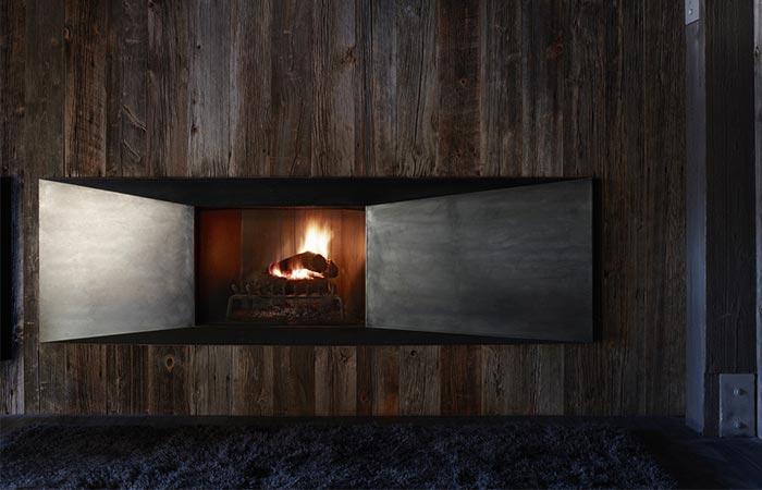 La Muna House Fireplace