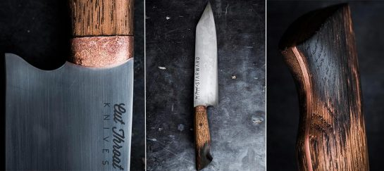 Cut Throat Knives X Starward | Limited Edition Bunka Style Chef Knife