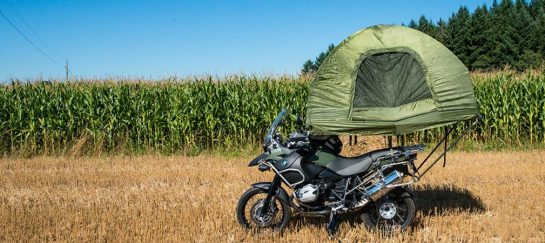 Mobed | The Motorcycle Mounted Tent