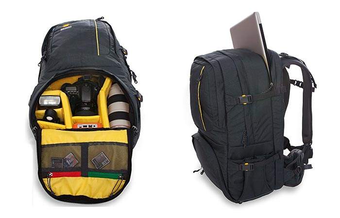 Two Images Of Mountainsmith Borealis Camera Backpack