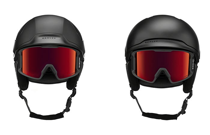 Oakley Mod 5 and Mod 3 helmets front view