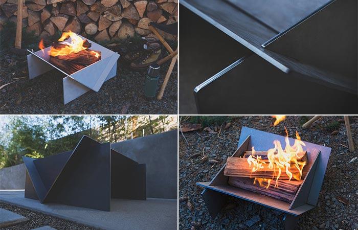 Four Images Of Stahl Firepit