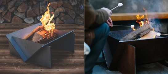 Stahl Firepit Assembles In Under A Minute