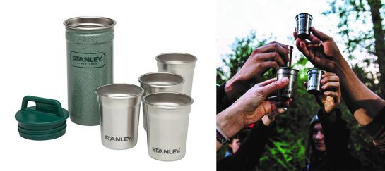 Take The Party Outside With A Set Of Stanley Shot Glasses