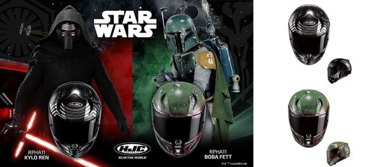 HJC Star Wars Motorcycle Helmets | Announcement for 2017