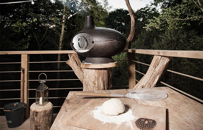 Treehouse Oven Area Outdoor