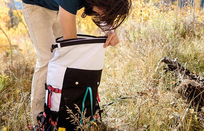 A Guy Searching Topo Designs Mountain Rolltop