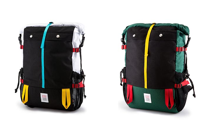 Two Topo Designs Mountain Rolltops