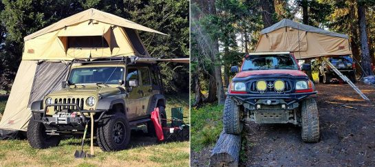 Tuff Stuff Overland | A Rooftop Camping Tent With Annex Room