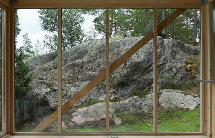 Viggso Cabin Windows