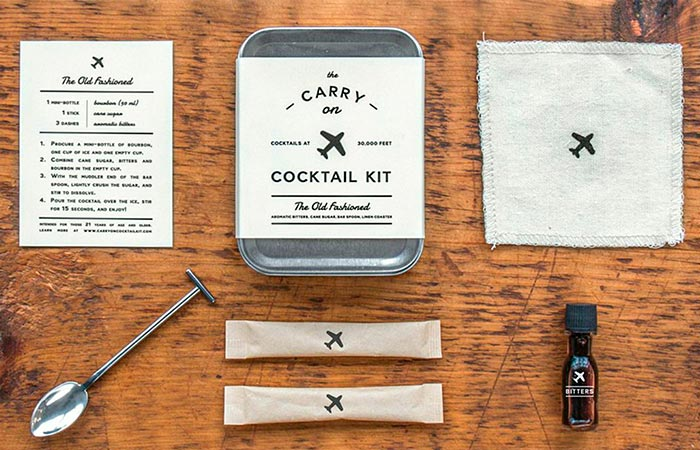 W&P Design Carry-On Cocktail Kits The Old Fashioned