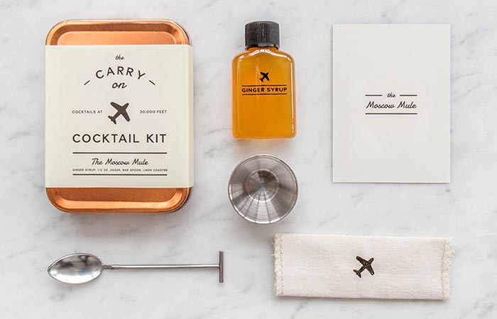 W&P Design Carry-On Cocktail Kits The Moscow Mule