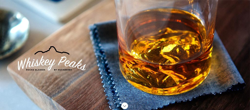 Whiskey Peaks | Huckberry-Exclusive Whiskey Glasses