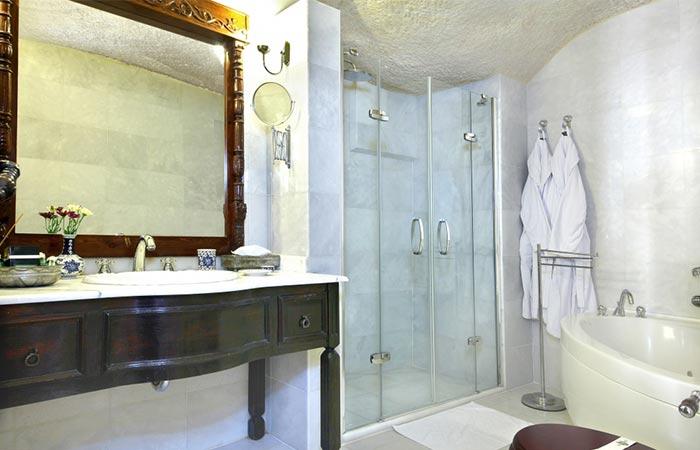 Yunak Evleri Cappadocia Hotel Bathroom