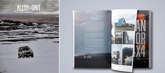 Alloy + Grit Magazine | A Magazine For Land Rover Lovers