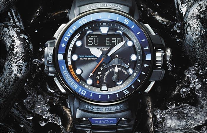 Casio G-Shock Gulfmaster front view