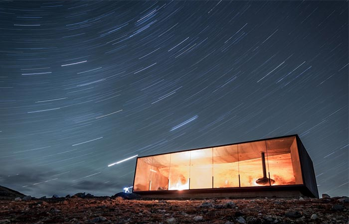 a pavilion in norway