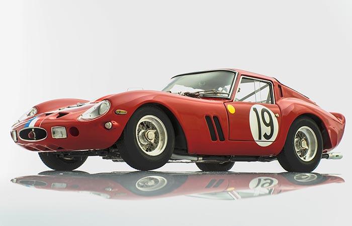 Racing Heroes Ferrari 250 GTO 1962 Le Mans