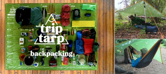 The Original Trip Tarp |  Helps Organize Your Next Adventure