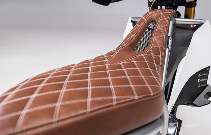 Aero E-Racer leather seat