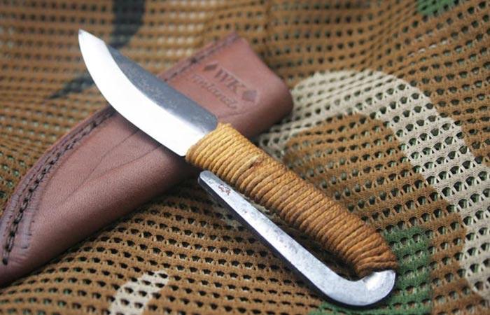 Kellam Fixed Blade Pocket Knife