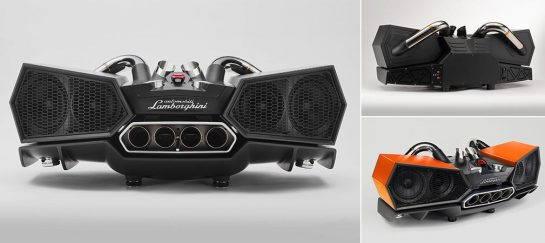 Lamborghini X Ixoost | Esavox Sound System
