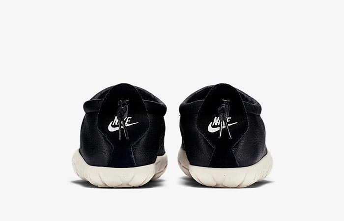 Nike Air Moc Bomber in black back view