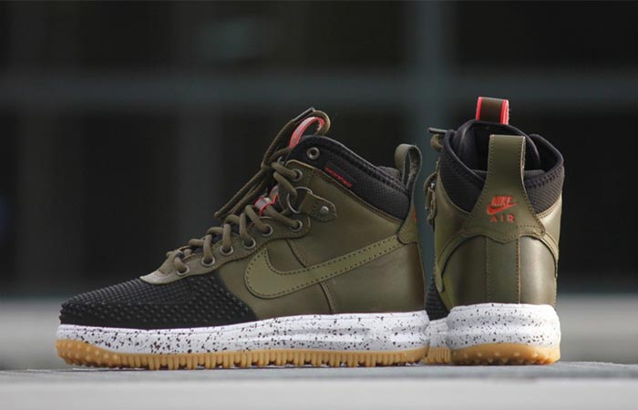 competitive price fcee5 83605 ... olive Nike Lunar Force 1 Duckboot ...