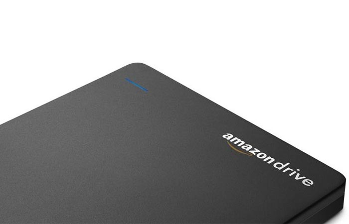 Aamazon Drive Sign on Seagate Duet