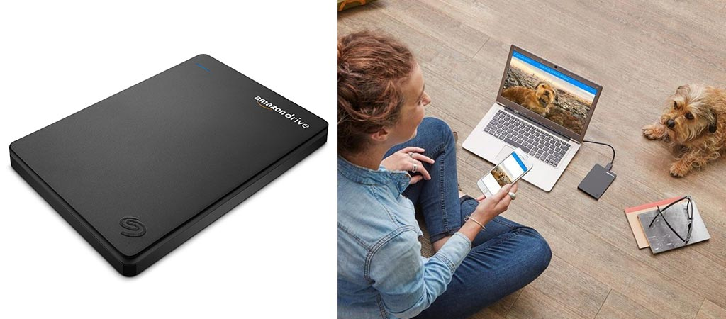Seagate Duet Cloud-Syncing Portable External Hard Drive