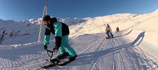 Stiga USA Snowracer | SX Pro Snow Sled