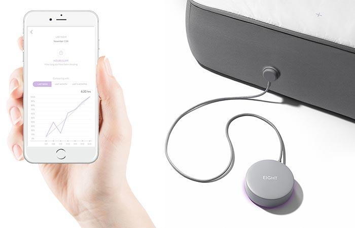 a phone app for a smart mattress