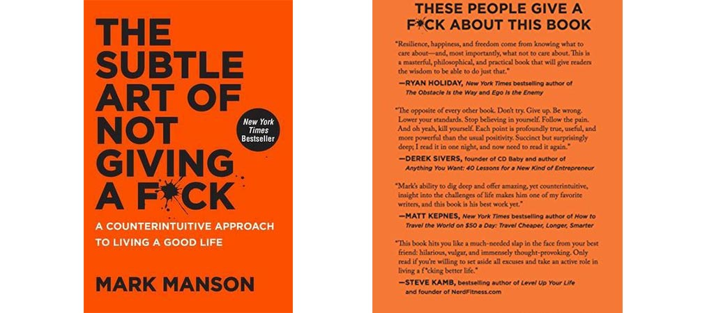 The Subtle Art Of Not Giving A F*ck | By Mark Manson