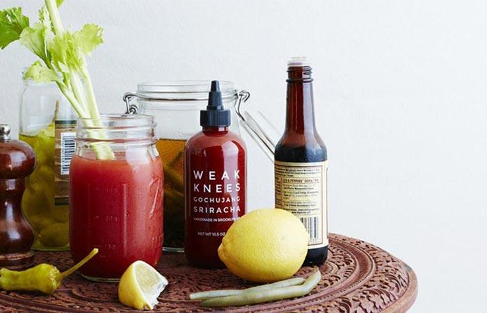 Weak Knees Gochujang Sriracha Hot Sauce
